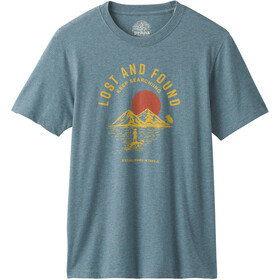 Prana Bradhaw T-Shirt Uomo, blue note heather